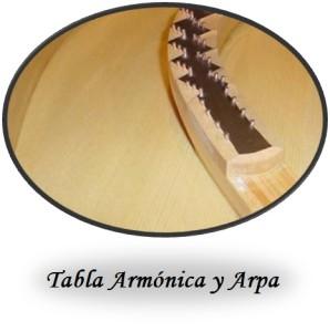 Tabla armonica boton