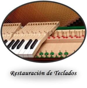 Restauracion de teclados Boton