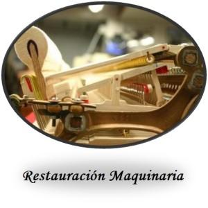 Restauracion maquinaria boton